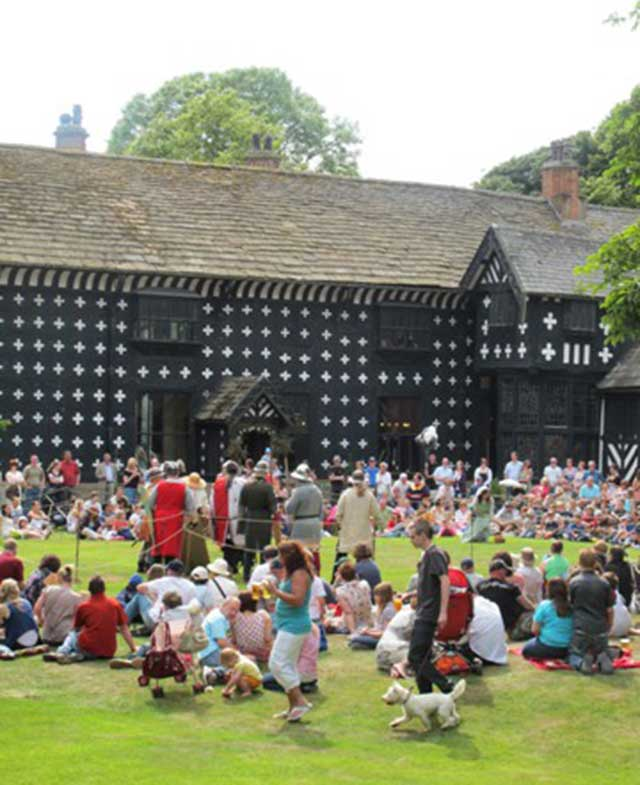 Enjoying Events at Samlesbury Hall